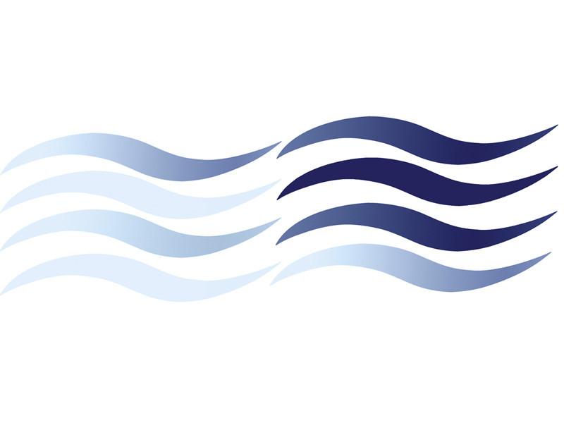 Dekoracja łazienkowa Wave Slim