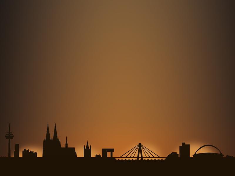 Dekoracja Radius Light City Cologne