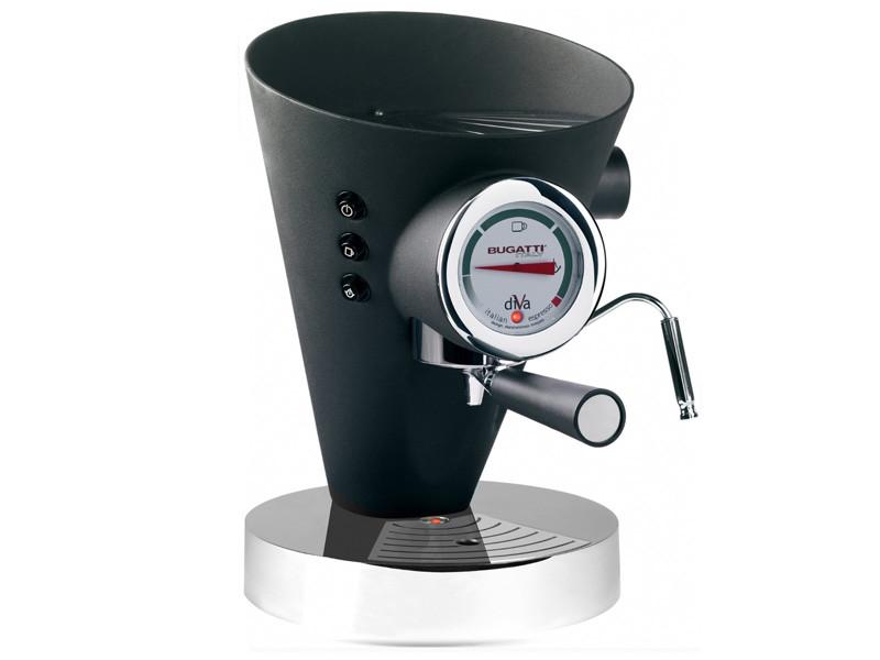 Ekspres ciśnieniowy do kawy Bugatti Diva Black