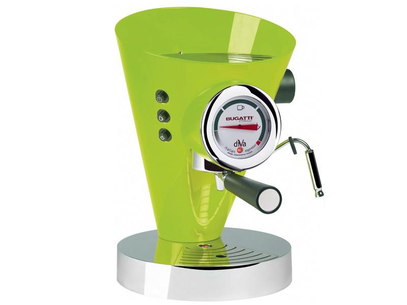 Ekspres ciśnieniowy do kawy Bugatti Diva Green