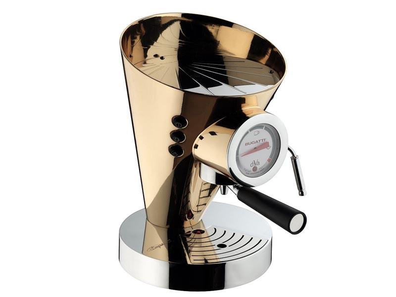 Ekspres ciśnieniowy do kawy Bugatti Individual Diva Gold 24-Karat