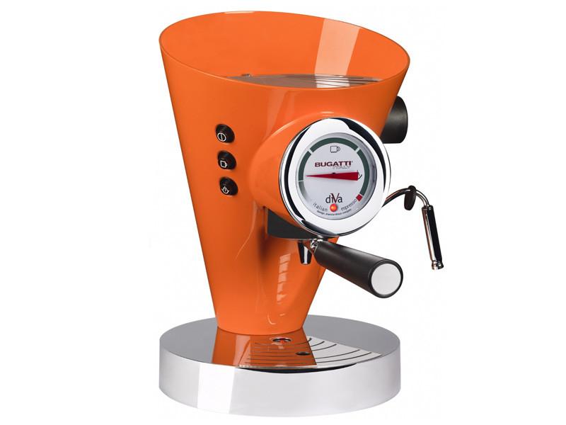 Ekspres ciśnieniowy do kawy Bugatti Diva Orange