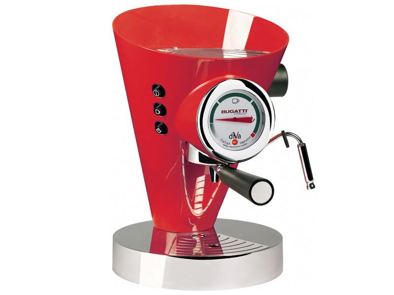 Ekspres ciśnieniowy do kawy Bugatti Diva Red