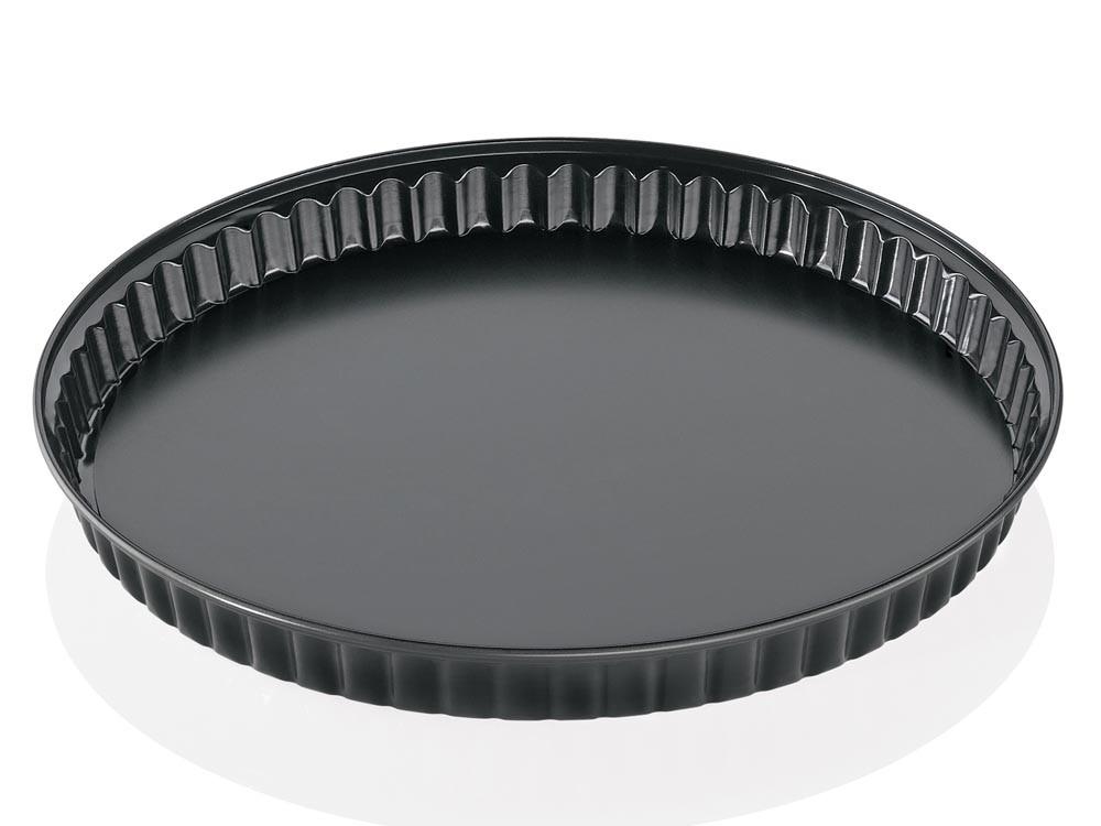 Forma do tarty Kuchenprofi do tarty Pâtissier Black ⌀ 28 cm
