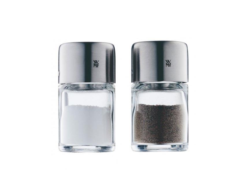 Zestaw do soli i pieprzu WMF Bel Gusto x2 Silver/Transparent