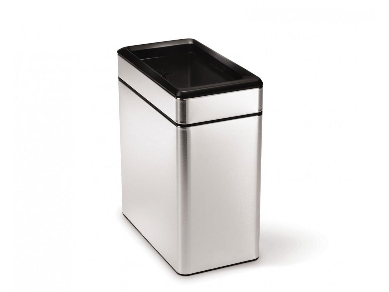 Kosz na śmieci Simplehuman Profile Silver/Black 10L