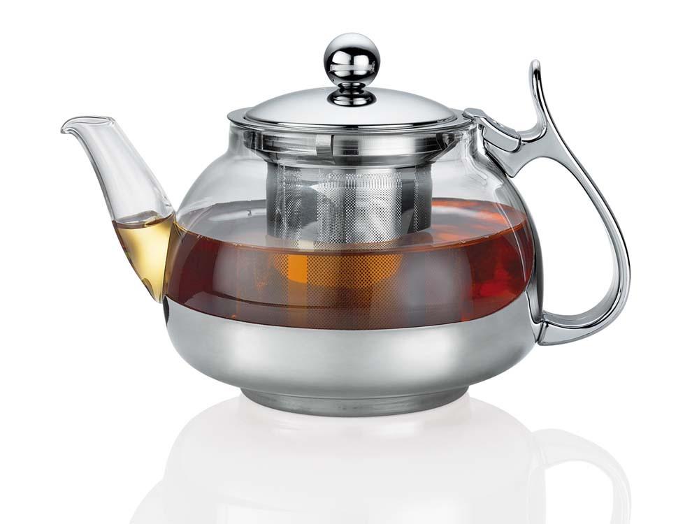 Imbryk do zaparzania herbaty Kuchenprofi Lotus 1,2 L