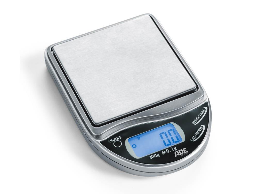 Kieszonkowa, precyzyjna waga kuchenna ADE do 300 g, dokładność 0,1 g