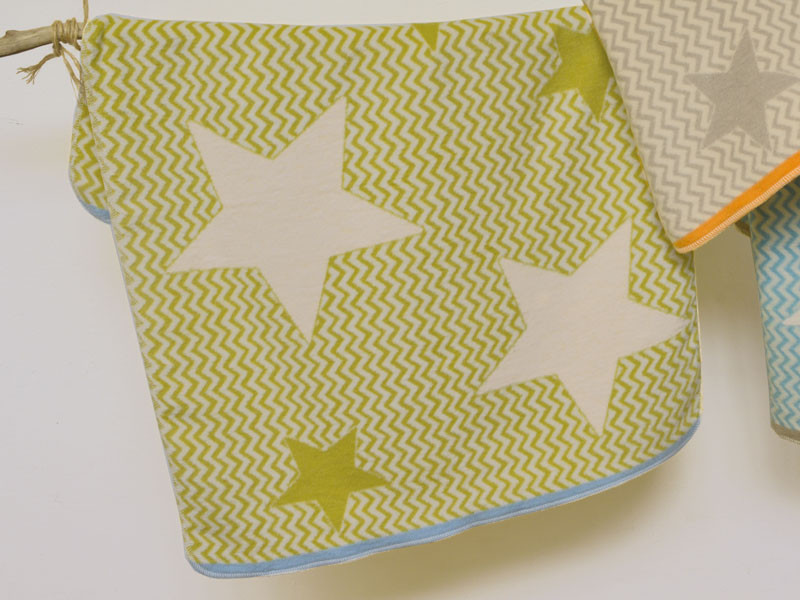 Kocyk DF Organic Maja Constellation Green 75x100