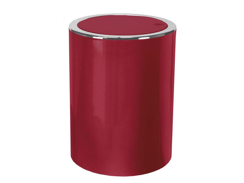 Kosz na śmieci 5L Clap Red