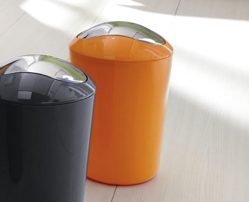 Kosz na śmieci 5L Glossy Orange