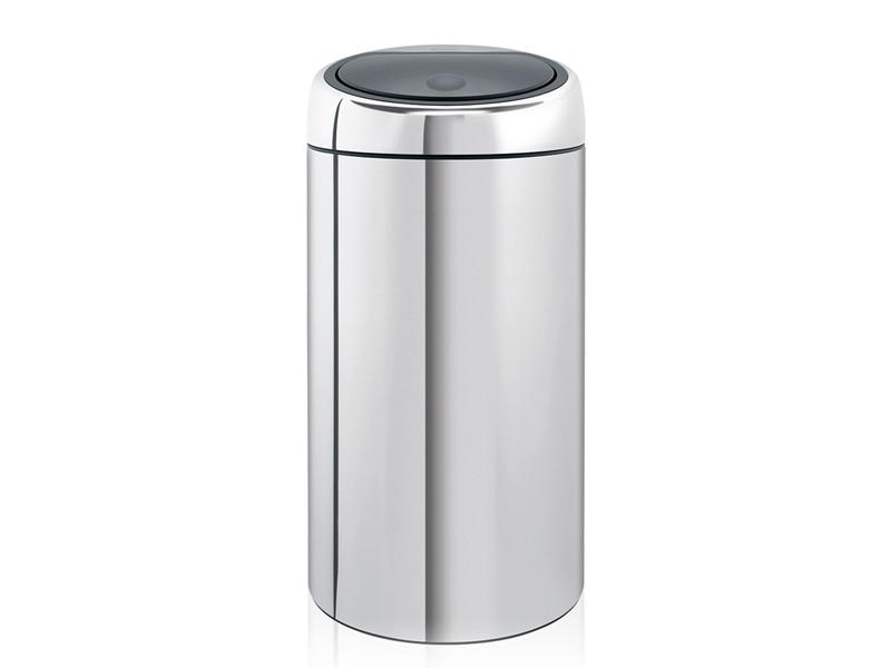 Kosz na śmieci Brabantia Touch Bin Matt Steel FPP Twin 2x20L do segregacji