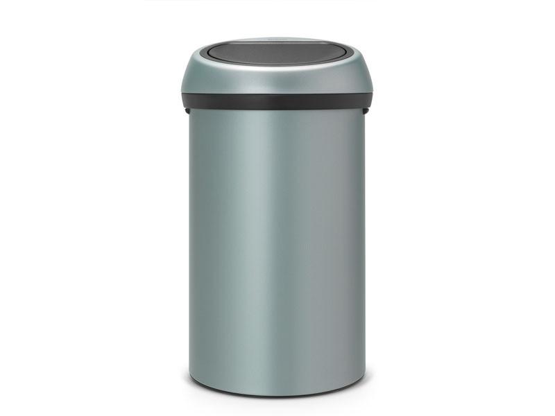 Kosz na śmieci Brabantia Touch Bin Metalic MInt 60L