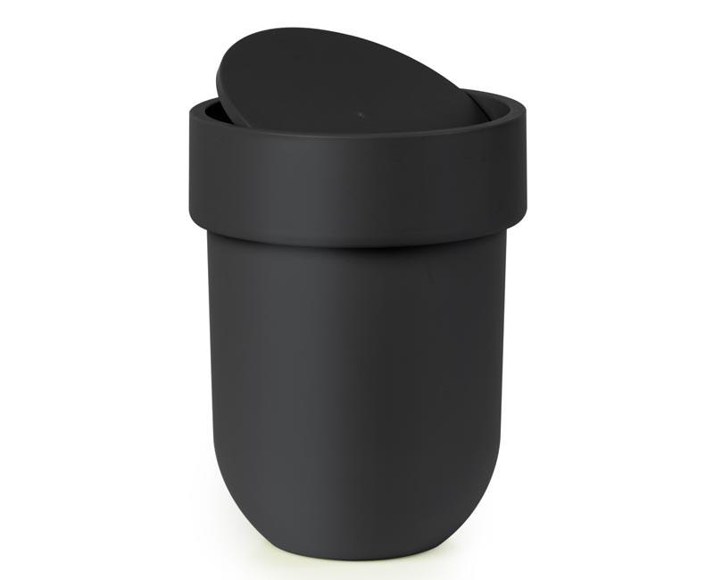 Kosz na śmieci Umbra Touch Lid Black