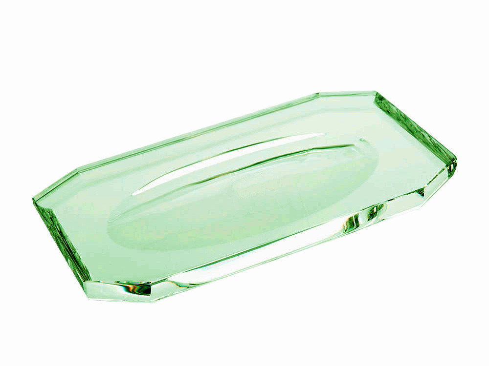 Tacka łazienkowa Decor Walther KR KS Crystal English Green