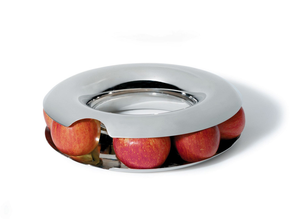 Stojak na owoce Alessi Fruit Loop Silver