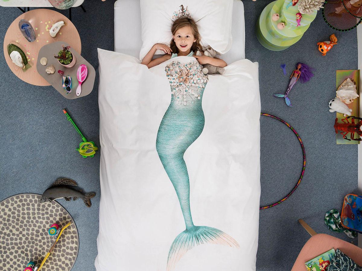 Pościel Snurk Mermaid 140x200