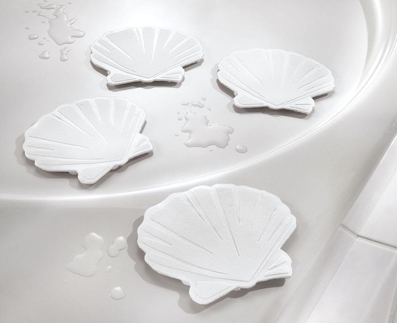 Minis KW Muschel White x6