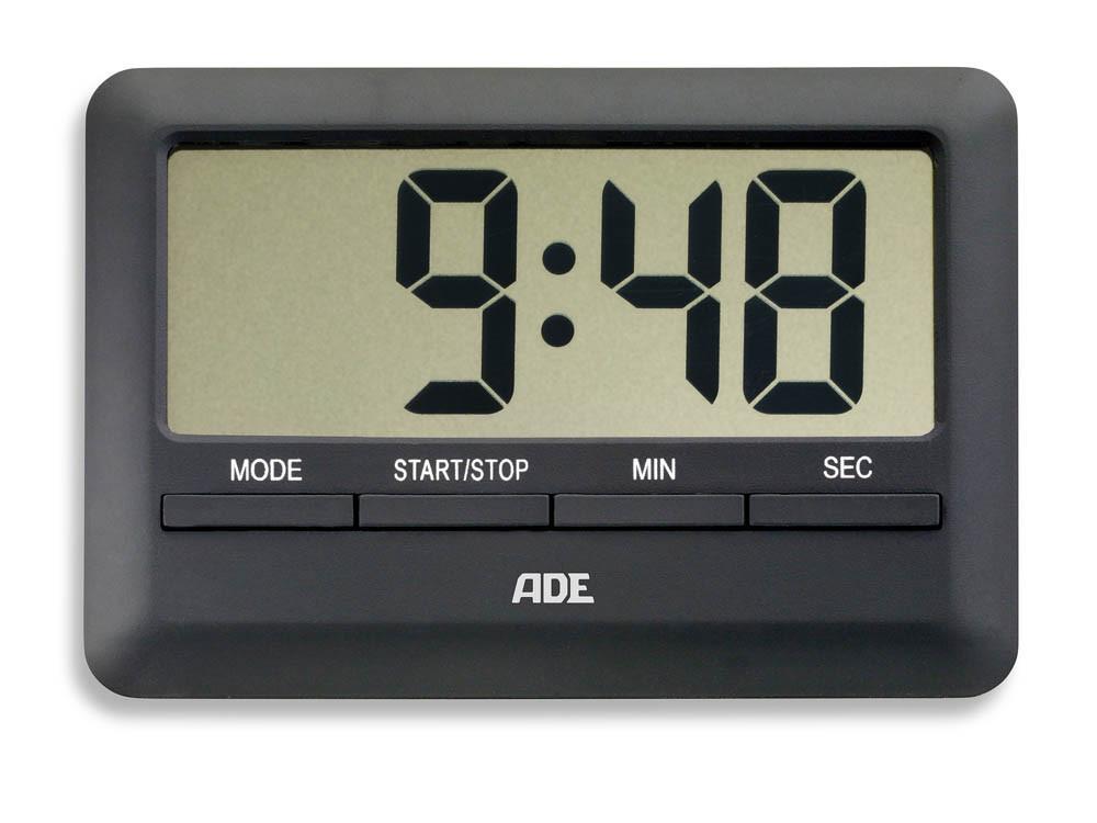 Minutnik elektroniczny ADE Black
