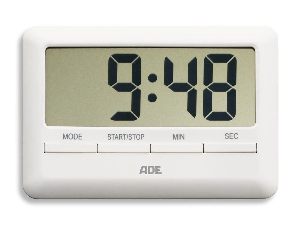 Minutnik elektroniczny ADE White