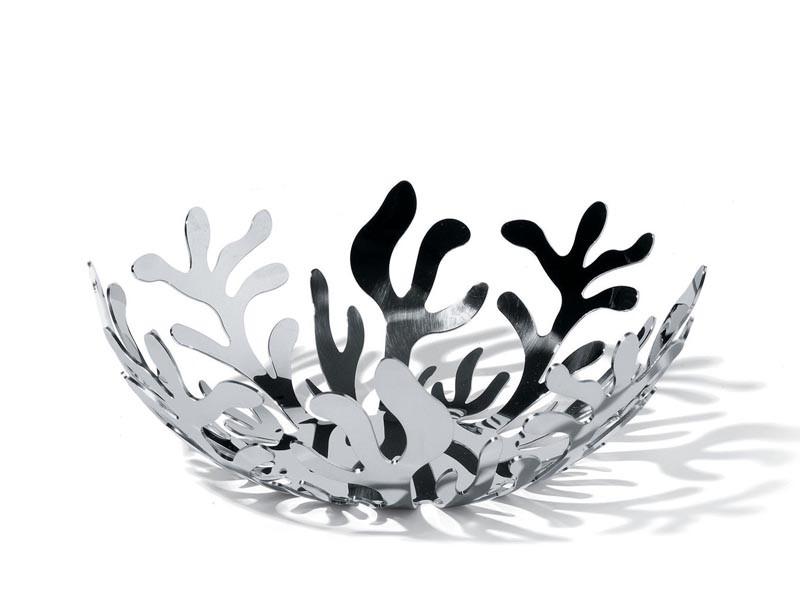Misa dekoracyjna na owoce Alessi Mediterraneo Silver 21