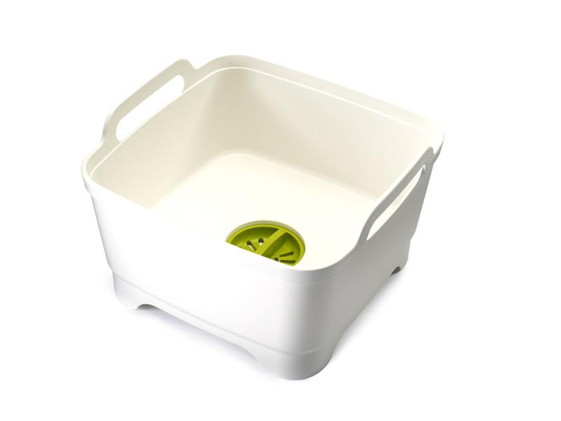 Miska do mycia naczyń z odpływem Joseph Joseph Wash&Drain White