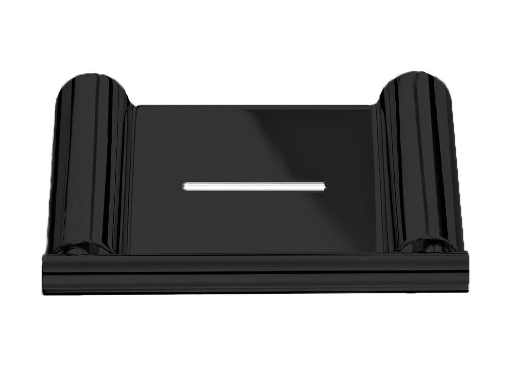 Półka ścienna na mydło Decor Walther Mikado MK WSS Black Matt