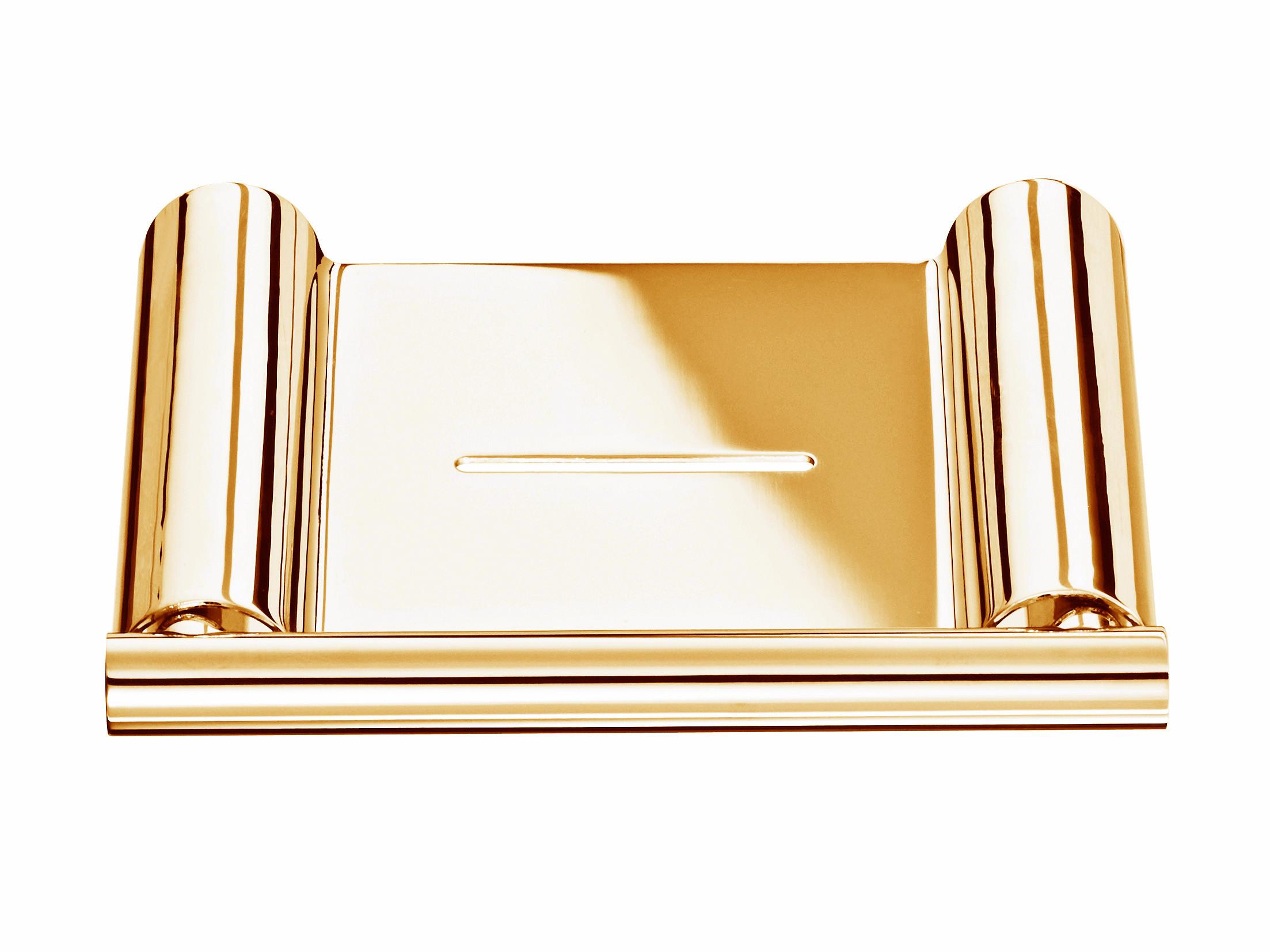 Półka ścienna na mydło Decor Walther Mikado MK WSS Gold