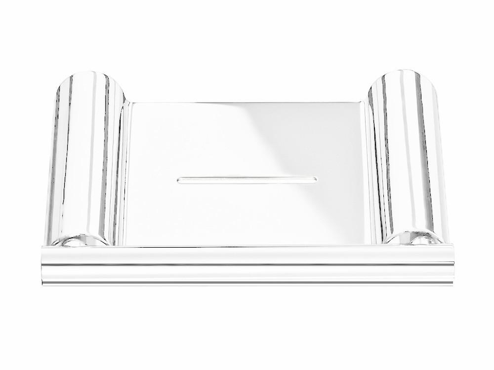 Półka ścienna na mydło Decor Walther Mikado MK WSS White Matt