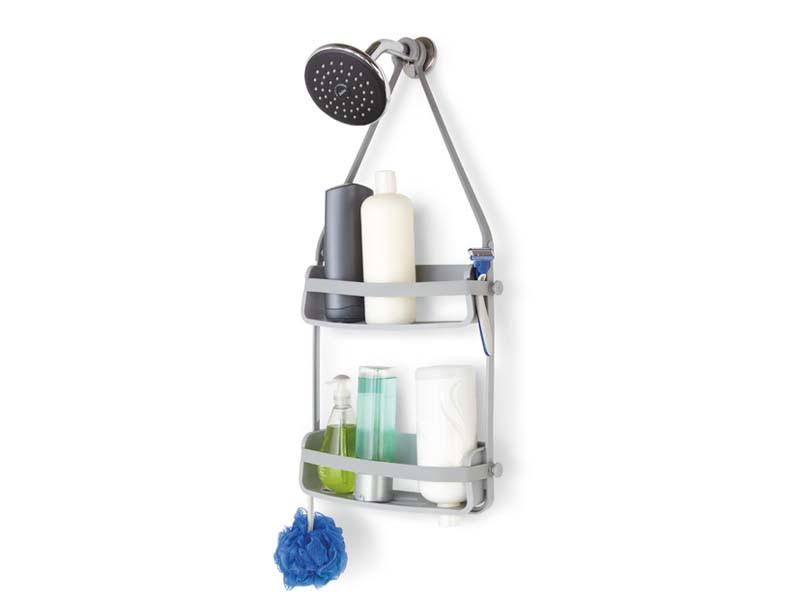 Organizer/ półka pod prysznic Umbra Flex Grey