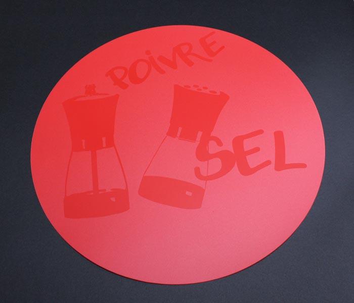 Podkładka stołowa Sel Red