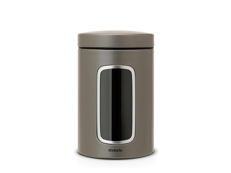Pojemnik kuchenny Brabantia Window Platinum 1,4L z okienkiem