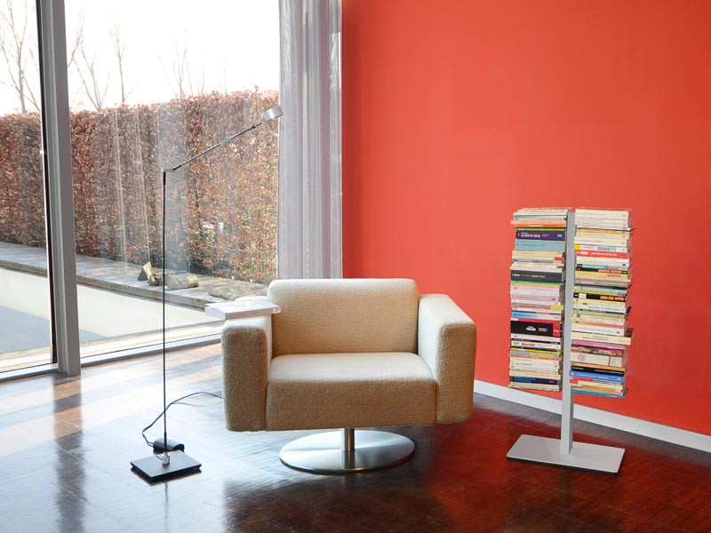 Półka Radius Booksbaum Floor 2M Silver