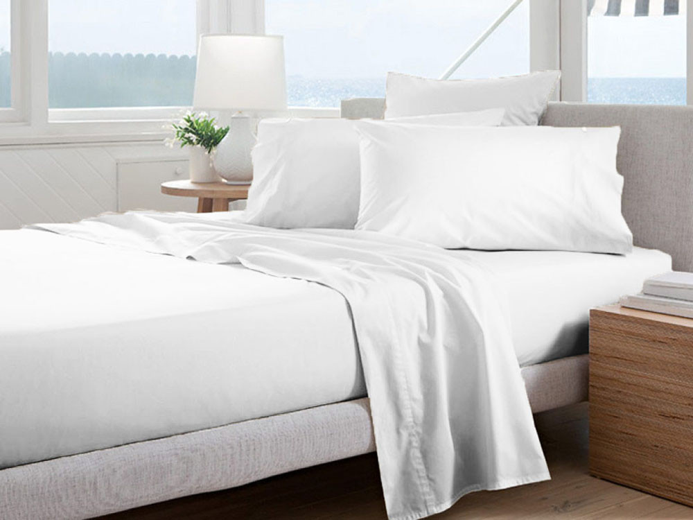 Pościel Curt Bauer Uni Comfort White