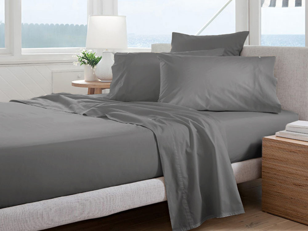 Poszewka Curt Bauer Uni Comfort Grey
