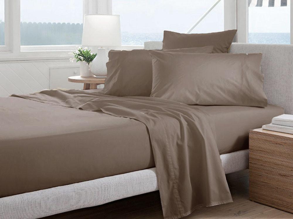 Poszewka Curt Bauer Uni Comfort Nougat