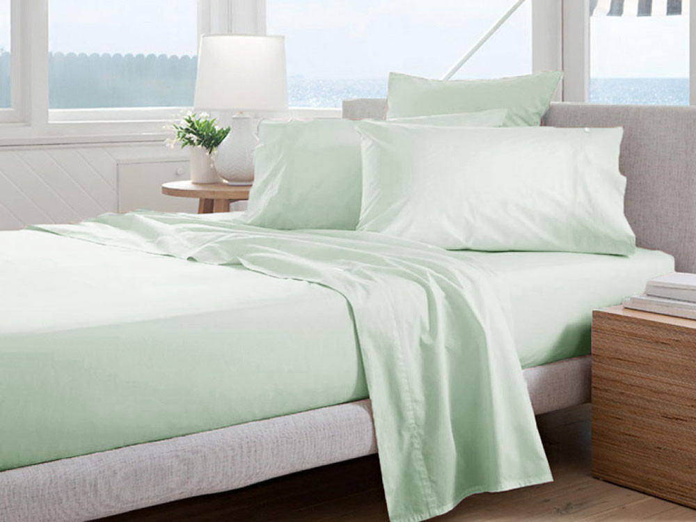 Poszewka Curt Bauer Uni Comfort Silver Jade