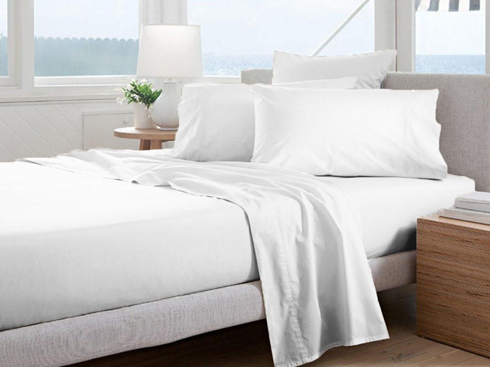 Poszewka Curt Bauer Uni Comfort White