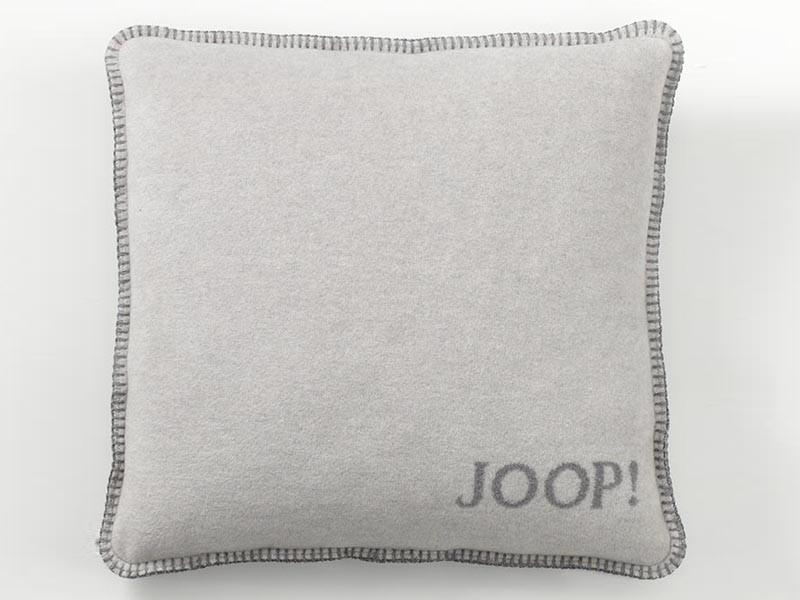 Poszewka Joop Uni Doubleface Silver/Grey 50x50