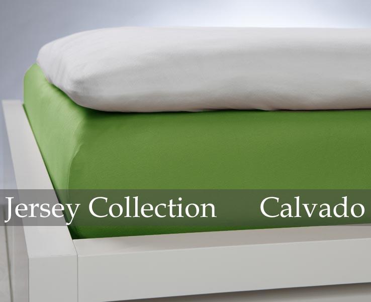 Prześcieradło Jersey Green