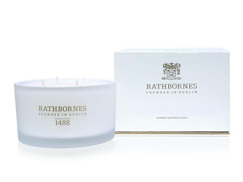 Świeca zapachowa Rathbornes Luxury Dublin Tea Rose