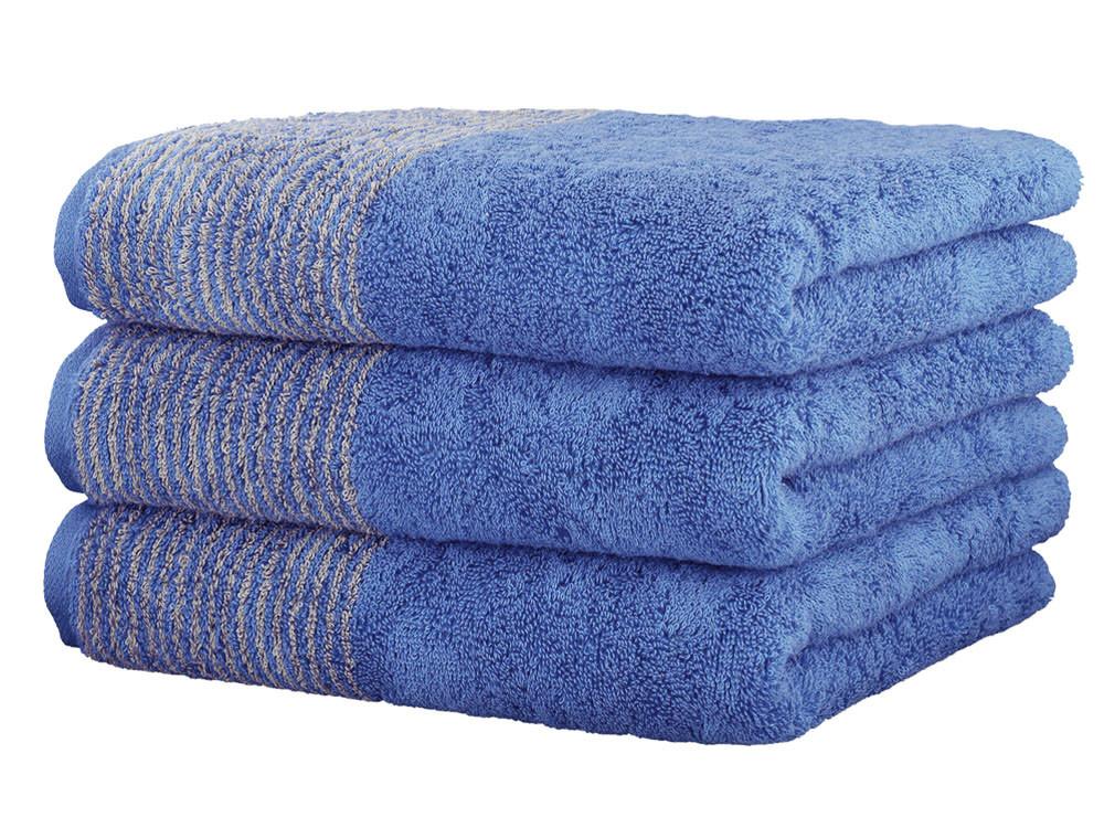 Ręcznik Cawo Two-Tone Uni Blue