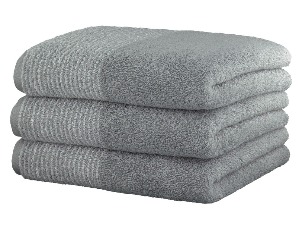Ręcznik Cawo Two-Tone Uni Platin