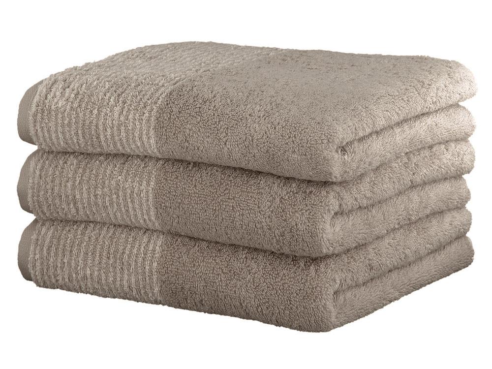 Ręcznik Cawo Two-Tone Uni Sand