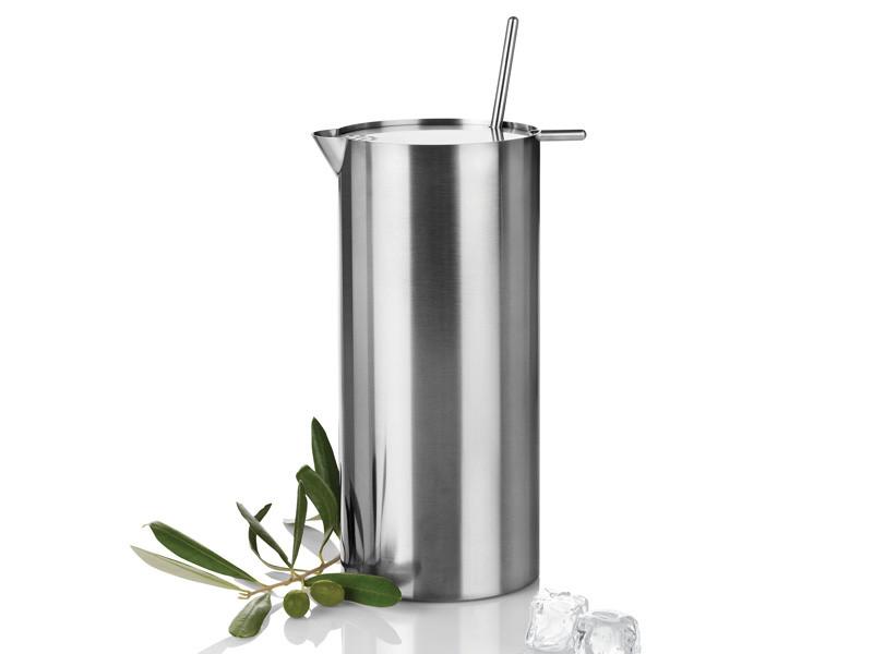 Shaker do martini z mieszadełkiem Stelton AJ Cylinda 1L