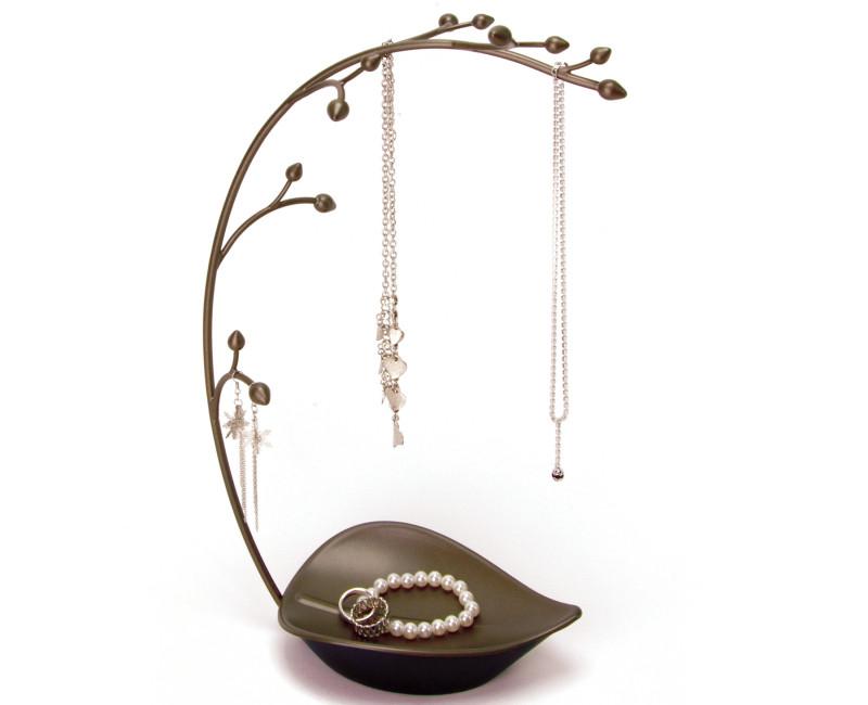 Stojak na biżuterię Umbra Orchid Gun Metal