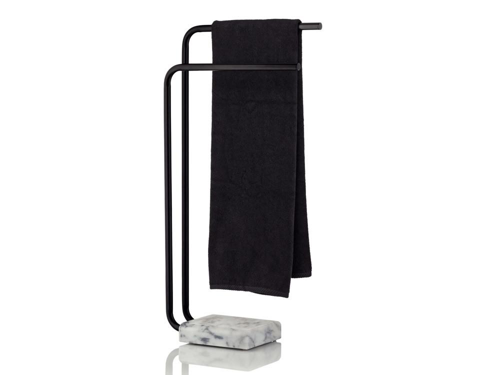 Stojak na ręczniki Kela Varda Black