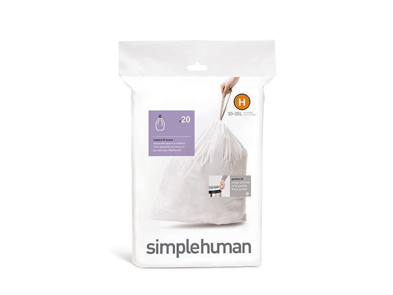 Worki na śmieci Simplehuman 30-35L rozm. H 20szt