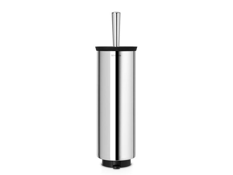 Szczotka do WC z uchwytem Brabantia Profile Brilliant Steel