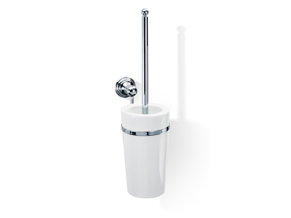 Szczotka do WC ścienna Decor Walther Classic CL WBG Porcelain Chrome